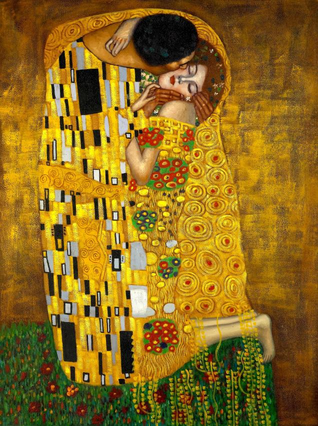 Klimt's The Kiss