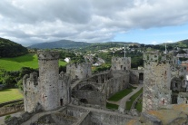 conwy-castle-with-penny-11th-sept-2016-14